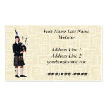 Bagpipe Musician Business Card