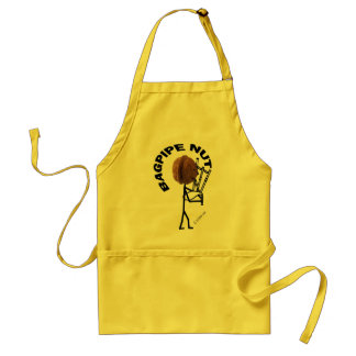 Bagpipe Nut Adult Apron