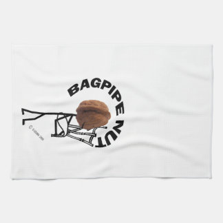Bagpipe Nut Hand Towels