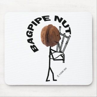Bagpipe Nut Mouse Pads