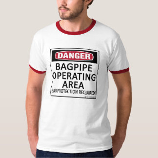 Bagpipe Operating Area T-Shirt
