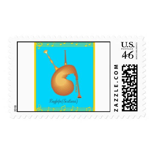 bagpipe postage