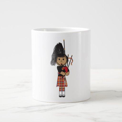 Bagpiper 20 Oz Large Ceramic Coffee Mug
