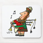 Bagpiper Mouse Pads