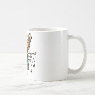 Bagpiper Classic White Coffee Mug