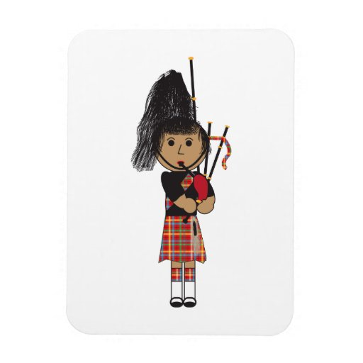 Bagpiper Magnets