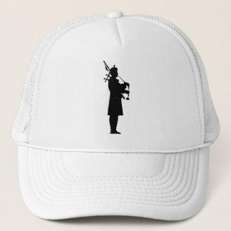 Bagpiper Silhouette Trucker Hat