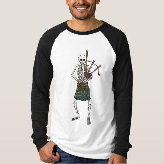 Bagpiper Skeleton Shirt