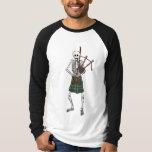 Bagpiper Skeleton T-Shirt