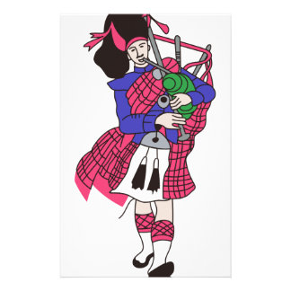 Bagpiper Stationery