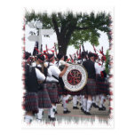 Bagpipes and Drums Post Cards