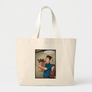 Bagpipes Funny Gifts Tees Mugs Cards Etc Large Tote Bag