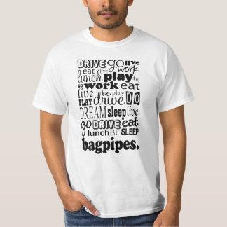 Bagpipes Gift Shirt