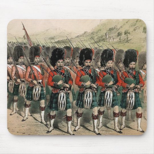 Bagpipes on Parade Mouse Pad
