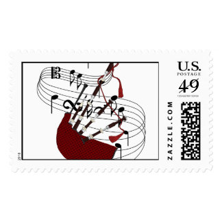 Bagpipes Postage