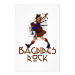 Bagpipes Rock! Stationery
