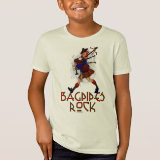 Bagpipes Rock! T-Shirt