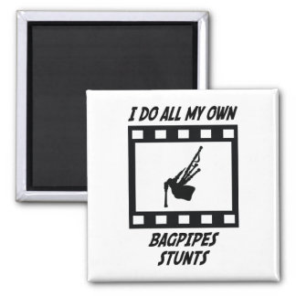 Bagpipes Stunts Magnet
