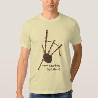Bagpipes Tee Shirt