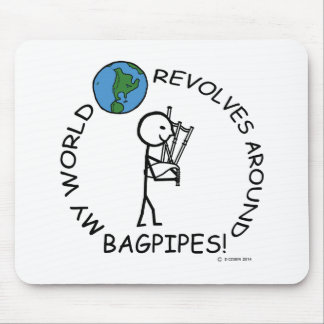 Bagpipes - World Revolves Around Mouse Pads