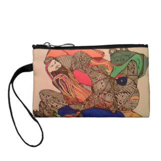 Bags, Hand bag, ladies wear. Evening bag Change Purses