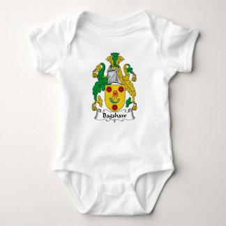 Bagshaw Family Crest Baby Bodysuit