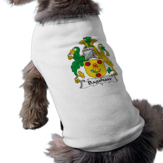 Bagshaw Family Crest Dog Clothes