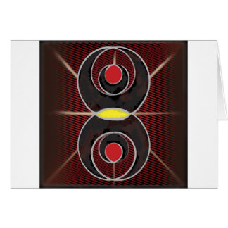 Bagua Abstract Card