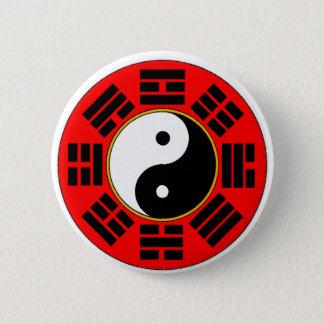 Bagua trigram button