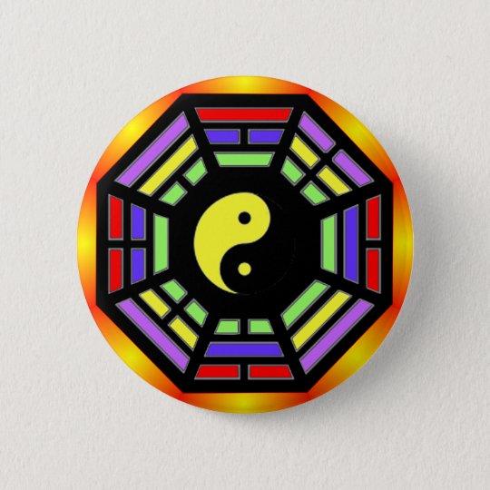 Bagua Yin Yang Gifts Button