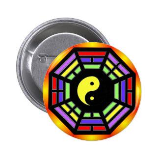Bagua Yin Yang Gifts Pinback Button