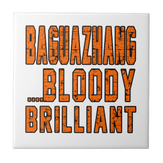 Baguazhang Bloody brilliant Small Square Tile