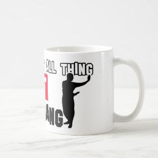 Baguazhang martial design coffee mug