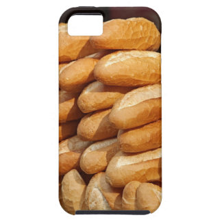 Baguette, bread, for sale in street by hawker. iPhone 5 cover
