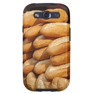Baguette, bread, for sale in street by hawker. galaxy SIII covers