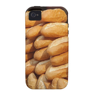 Baguette, bread, for sale in street by hawker. vibe iPhone 4 cover