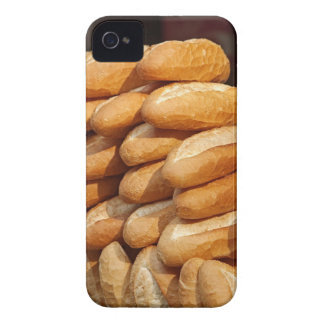 Baguette, bread, for sale in street by hawker. iPhone 4 case