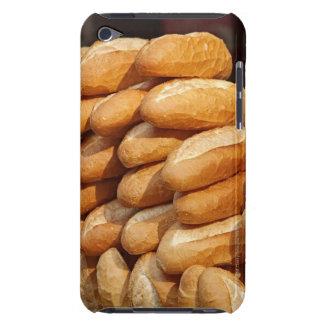 Baguette, pan, para la venta en calle del vendedor funda iPod