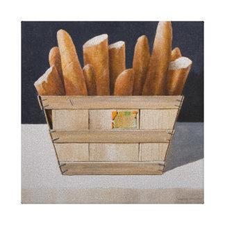 Baguettes 2010 canvas print