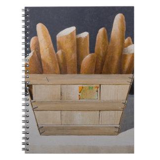 Baguettes 2010 spiral notebook