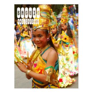 Baguio in Philippines Postcard