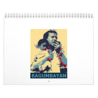 BAGUMBAYAN Desk Calendar