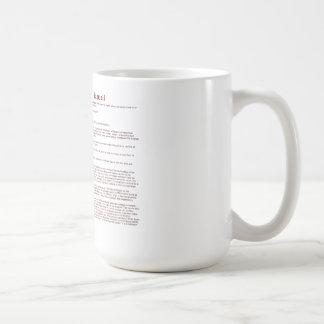 Bagwell (significado) taza de café