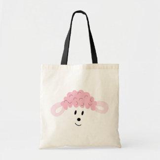 BAH! BAH! Lamb Face Canvas Bags