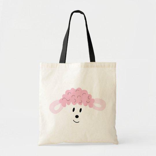 BAH! BAH! Lamb Face Tote Bag