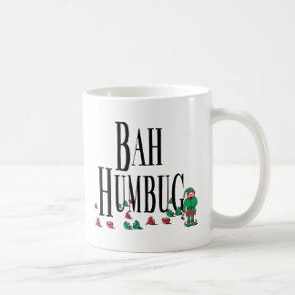 Bah Bumbug Classic White Coffee Mug