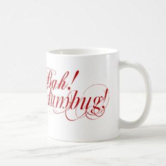 ¡Bah! ¡Embaucamiento! taza de la tipografía