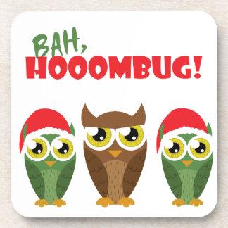 """""""Bah Hooombug"""" Beverage Coaster"""