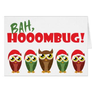 """""""Bah Hooombug"""" Card"""