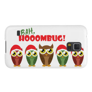 """Bah Hooombug"" Cases For Galaxy S5"